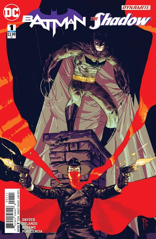 Preview: Batman/The Shadow #1 by Snyder, Orlando, & Rossmo