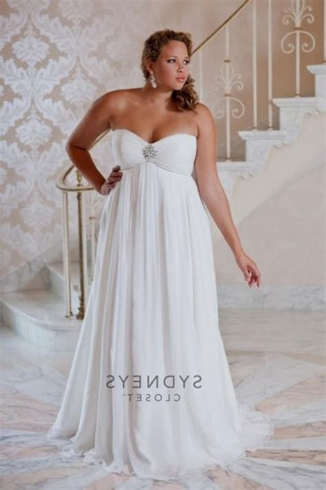 casual plus size beach wedding dresses 2016 2017   B2B Fashion