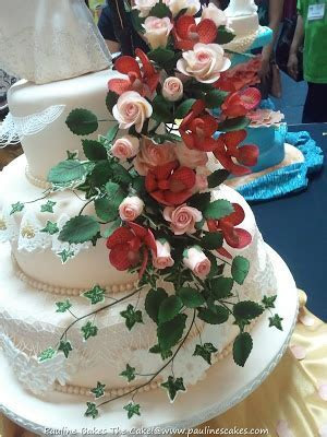 "PAULINE BAKES THE CAKE!: ""Beauty and the Prince"" Wedding"