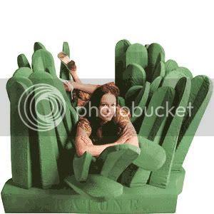 weird furniture design Grass couch