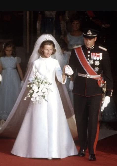 Princess Sonja and Crown Prince Harald (now Queen Sonja