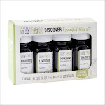 Aura Cacia Essential Oils Kit - 4 pack, 0.25 fl oz bottles
