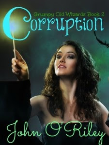 Cover for CorruptionMandie