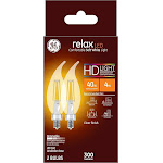 GE 31384 Relax HD LED Light Bulb, 4 Watt