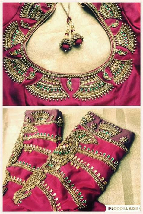 15 Awesome Saree Blouse Designs for Weddings   FashionShala