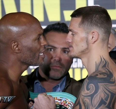Hopkins vs. Smith Jr. Weigh-In Results [Video]  #Boxing #Boxeo #RBRBoxing #RoundByRoundBoxing #BoxingNews...