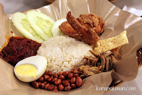 Nasi Lemak from OldTown White Coffee