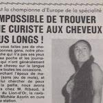 Dans le rétro - « Histoires d'été à Vichy » : en 1982, une curiste qui attire tous les regards