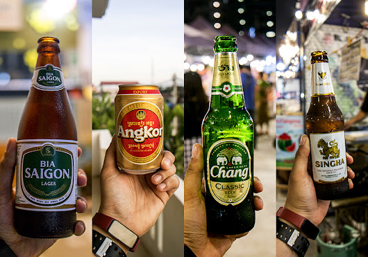 Beers of Vietnam, Cambodia and Thailand
