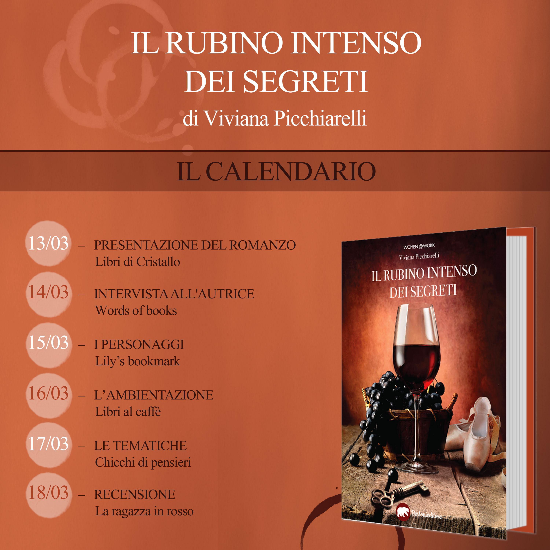 Calendario Il rubino intenso dei segreti