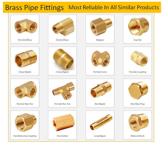 What makes brass pipe fittings the most reliable of all similar products? « Brass Engineering