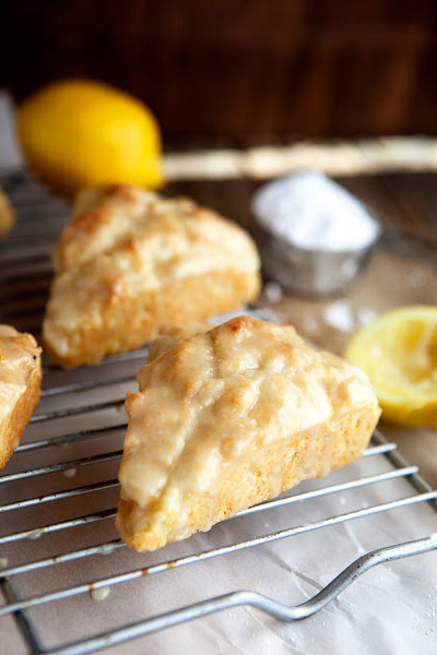 Lemon Cream Scones Image