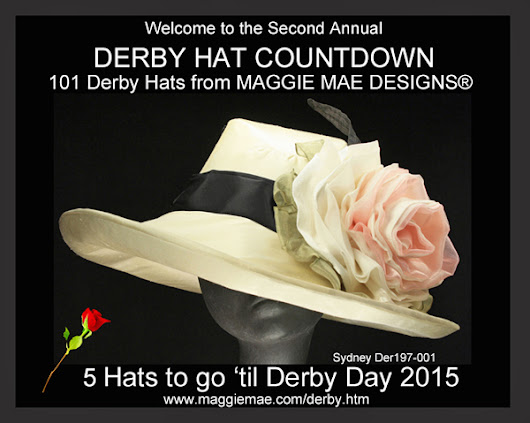 MAGGIE MAE DESIGNS® Derby Hat Countdown - 5 of 101