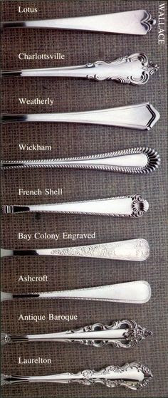 Wallace Flatware Patterns Stainless Home Design Ideas