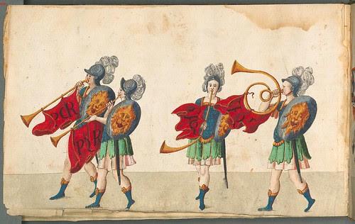 Beschreibung der historischen und allegorischen Personen 1596 (1600) horns