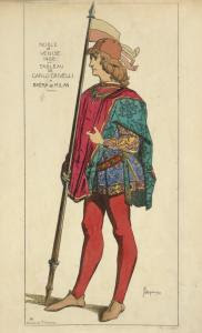 Noble de Venise. 1488. Tableau... Digital ID: 1642552. New York Public Library