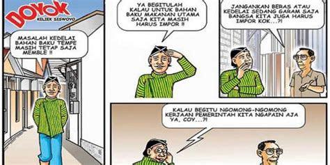 kartun doyok  potret masyarakat bawah jakarta merdekacom