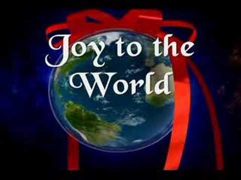 GOSPEL LYRICS: JOY TO THE WORLD LYRICS-CHRISTMAS CAROLS
