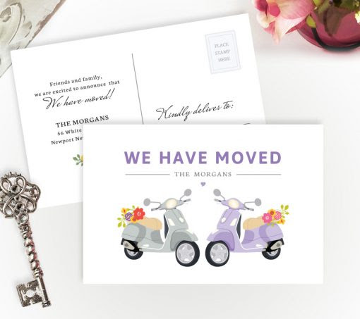 Moving House Cards | Personalized Moving Cards