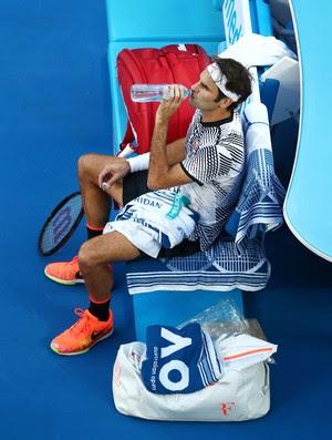 Roger Federer Aberto da Austrália tênis (Foto: Clive Brunskill/Getty Images)