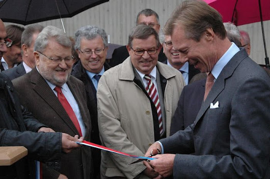Grand Duke Opens Highway