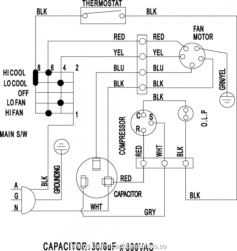 Ac Capacitor Wiring Color