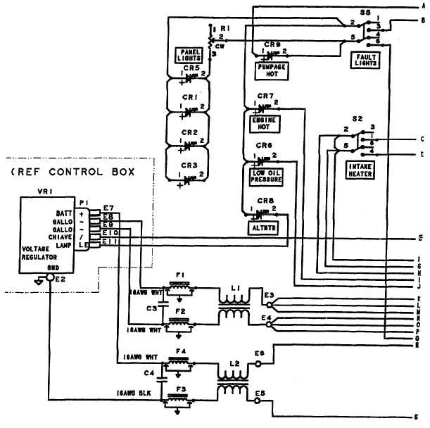 wiring diagram of apfc panel