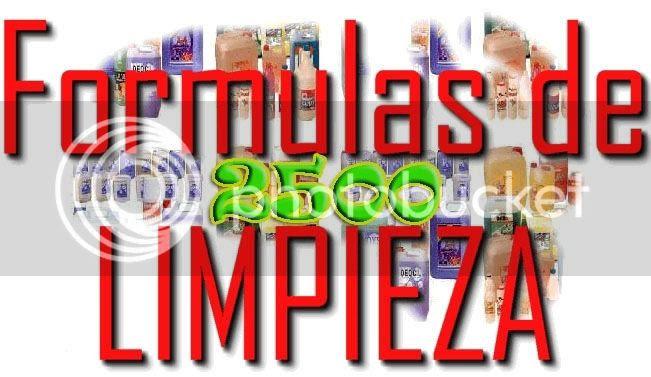 2500 FORMULAS INDUSTRIALES
