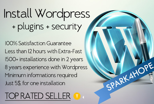 I will install WORDPRESS, Secure it and add Plugins for $5