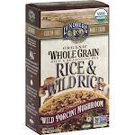 Lundberg Family Farms Whole Grain Wild Rice Porcini (6 - 6 oz bags)