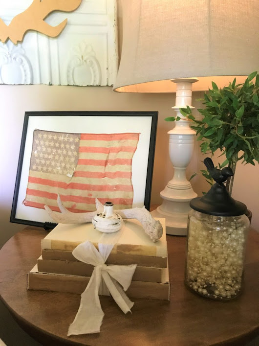 Vintage Inspired July 4th Decor - County Road 407