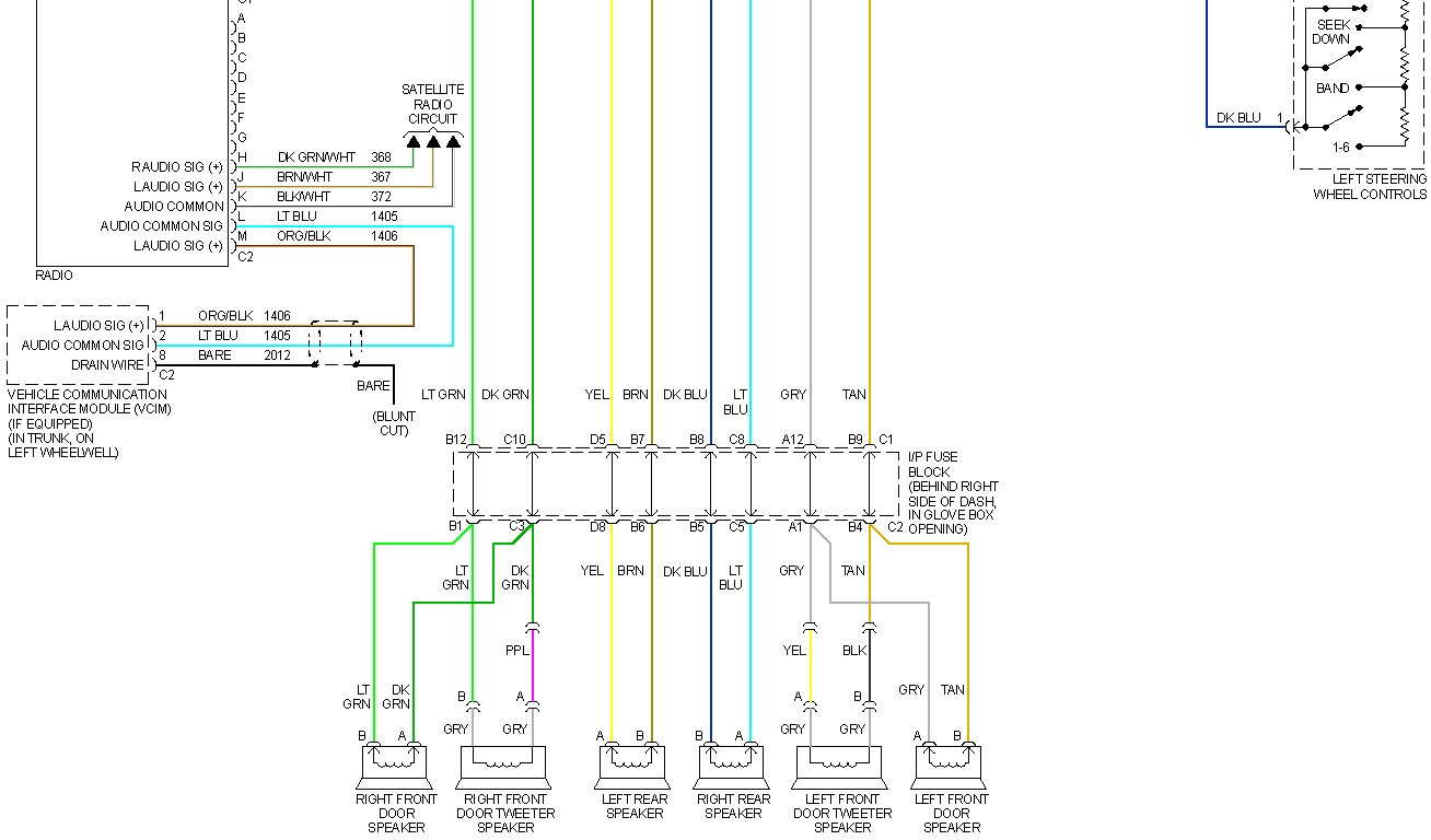 27 Pontiac G6 Radio Wiring Diagram