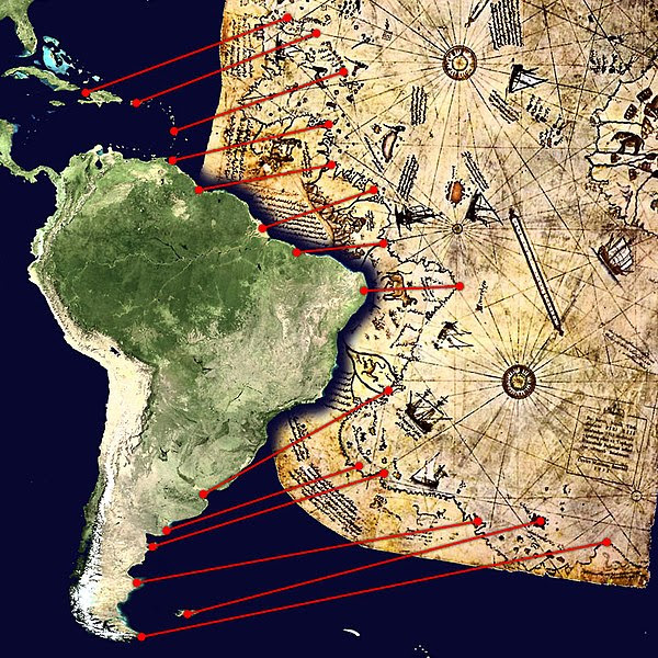 Archivo:Piri Reis map interpretation.jpg