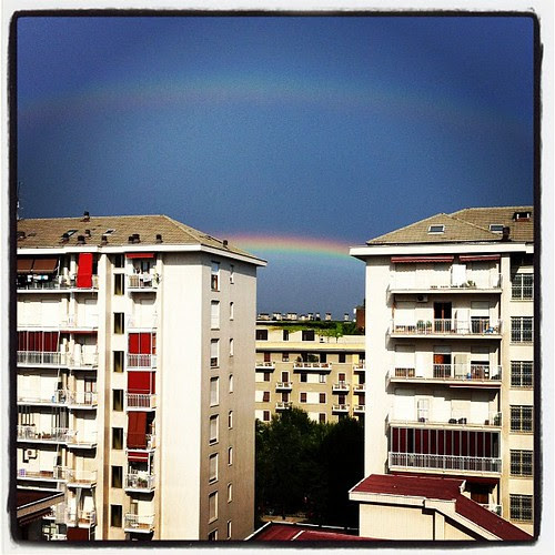 Right now:)) beautiful rainbows:)
