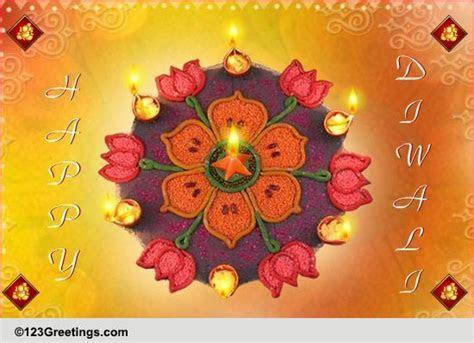 Shubh Deepawali! Free Rangoli eCards, Greeting Cards   123