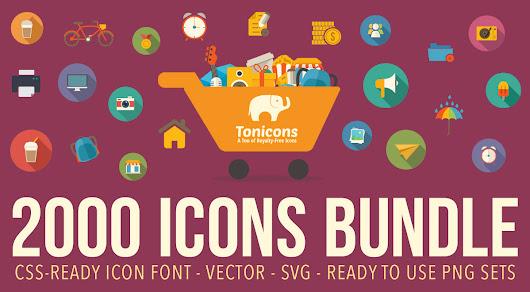 Tonicons | A Ton of Royalty Free Vector Icons
