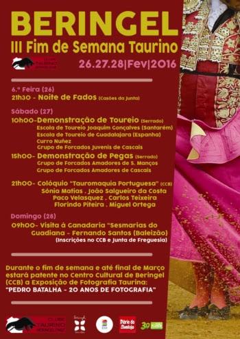 Programa do Fim de Semana Taurino 2016 em Beringel