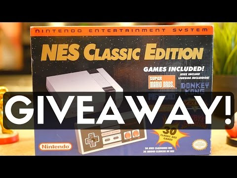 NES Classic Edition Giveaway!