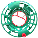 Simple Living Solutions 238886 Large Green Plastic Christmas Light Reel