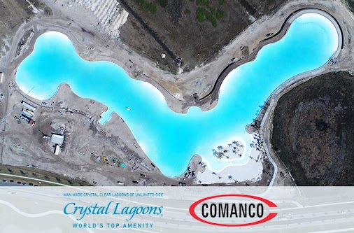 COMANCO Attends Epperson Ribbon Cutting Ceremony for First U.S. Man-made Lagoon Powered by Crystal Lagoons...