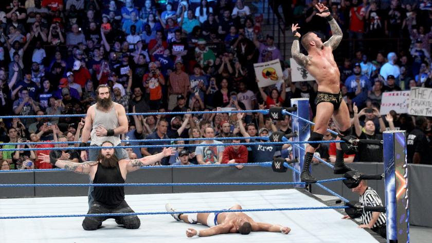 Orton & Wyatt will face Rhyno & Slater for the SmackDown Tag Team Titles at WWE TLC this Sunday!