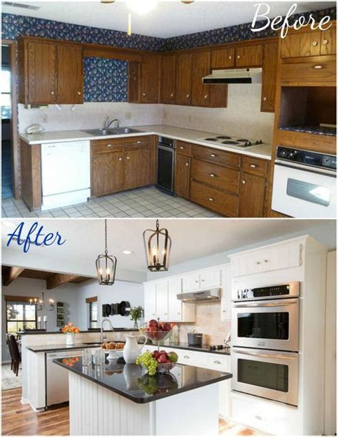 pretty    kitchen makeovers noted list