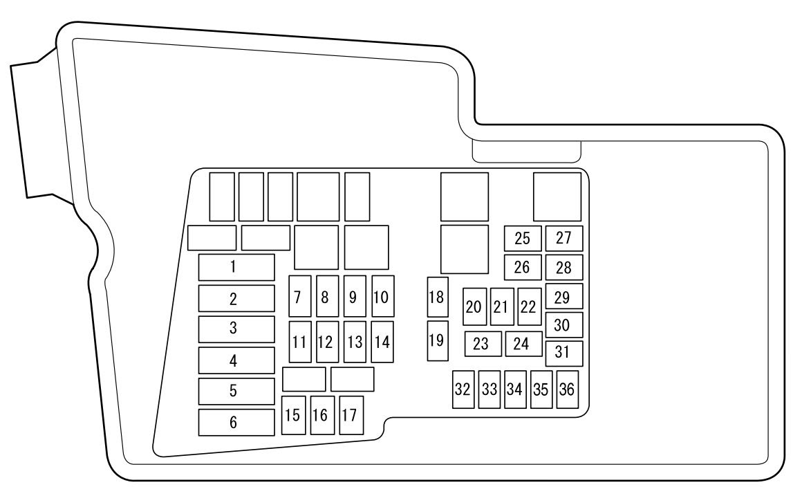 Mazda Cx 7 2012 Fuse Box Diagram Auto Genius