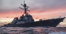 Search and rescue underway after USS John S. McCain collides with merchant ship near Strait of Malacca