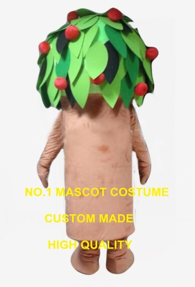 Best Seller cartoon fruit tree mascot costume adult size customizable high quality perfoming props carnival advertising fancy dress 2590