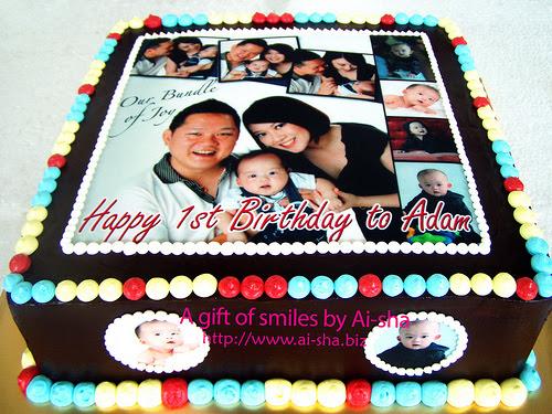 Birthday Cake Edible Image Ai Sha Puchong Jaya