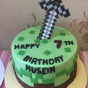Minecraft Cake (9)