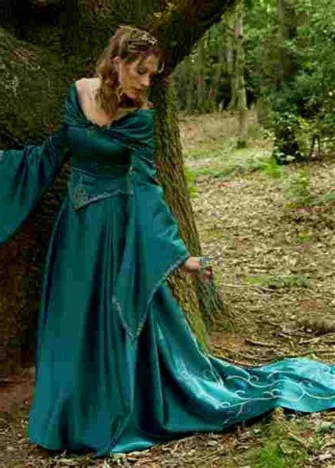 medieval princess dress green naf dresses