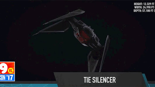 Check Out the TIE Silencer, Kylo Ren's Deadly New Ship In The Last Jedi
