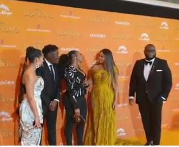 MAJOR! Yemi Alade Meets With Beyonce (Photos)